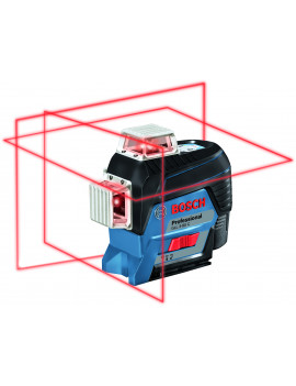 Bosch GLL 3-80 C Professional - Líniový laser + prijímac LR 7 0601063R05