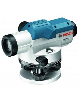 BOSCH Optický nivelacný prístroj GOL 26 D + statív BT160 + nivelacná lata GR 500 Professional