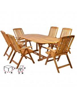 HECHT LEADER SET - set záhradného nábytku