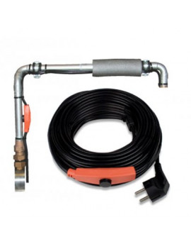 DEMA Vykurovací kábel na ochranu proti mrazom s termostatom 2 m