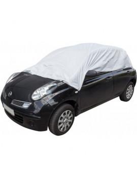 DEMA Ochranná plachta na auto, pologaráž pre sedan