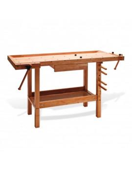 DEMA Drevená stolárska hoblica 137x50x86 cm