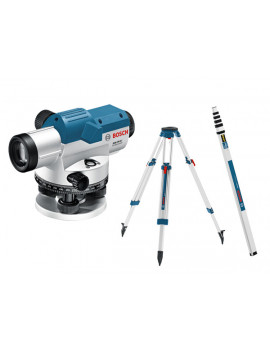 Bosch Optický nivelacný prístroj GOL 26 D + statív BT160 + nivelacná lata GR 500 Professional 061599400E