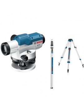 Bosch GOL 20 G + statív BT 160 + nivelačná lata 5 m GR 500 Professional - 061599404P - Optický nivelačný prístroj 061599404P