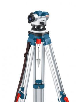BOSCH Optický nivelacný prístroj GOL 20 D + statív BT 160 + nivelacná lata 5 m GR 500 Professional 061599404R