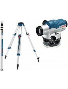 BOSCH GOL 32 G v sade so statívom BT 160 a latou GR 500 Professional - 06159940AY - Optický nivelačný prístroj