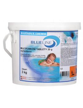 Blueline 508603 - Multifunkčné štvorzložkové tablety 20 g - 3 kg