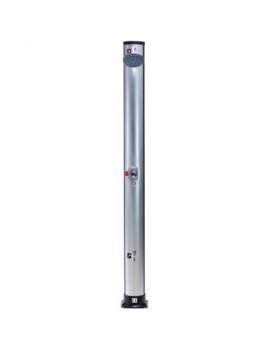 DEMA Solárna sprcha 35 L Basic, strieborná