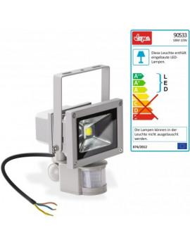 DEMA LED reflektor 10 W s detektorom pohybu 230 V
