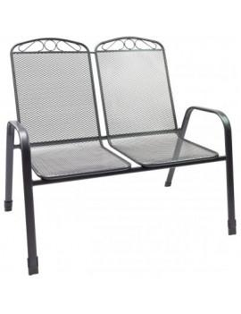 DEMA Dvojitá kovová stolička Virginia