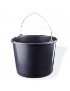 DEMA Stavebné vedro na maltu 12 litrov, čierne