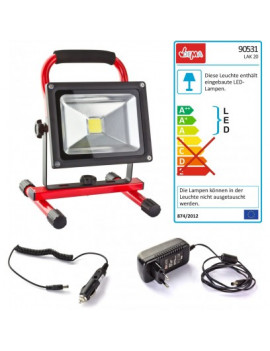 DEMA Prenosný LED pracovný reflektor LAK20
