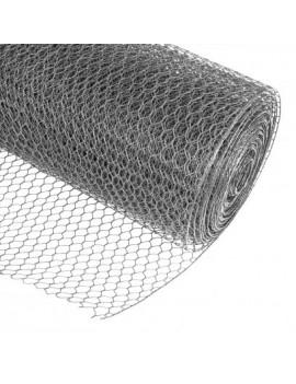 DEMA Voliérové šesťhranné pletivo pozinkované 25 mm, 1x25 m, drôt 0,75 mm