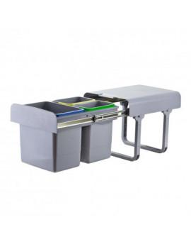 DEMA Odpadkový kôš na triedený odpad 15 L + 2x7 L