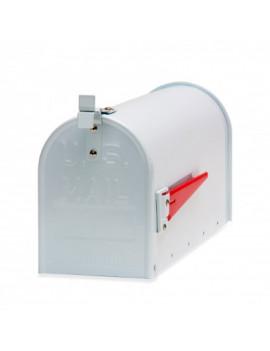 DEMA Hliníková americká poštová schránka, biela