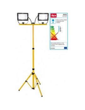 DEMA Teleskopický statív s LED reflektormi Slim 2x30 W