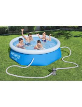 Bazén Bestway® 57268, 2,44x0,66 m, nafukovací, filter