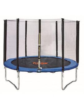 Trampolína Skipjump XT08, 240 cm, sieť, rebrík