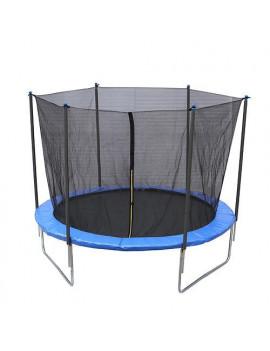 Trampolína Skipjump XS10, 305 cm, sieť, rebrík, Kidsafe