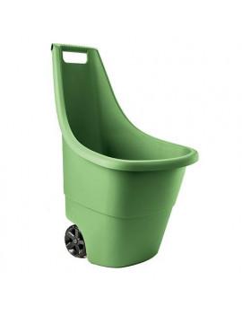 Vozík Keter® EASY GO 50 L, 51x56x84 cm, zelený, na záhradný odpad