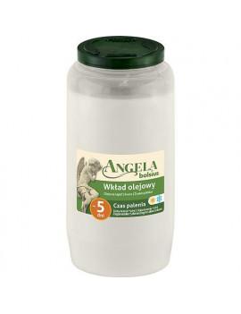 Napln bolsius Angela NR07 biela, 105 h, 317 g, olej