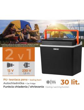 Autochladnička Strend Pro, 2v1, 30 lit, 230V/12V, POLYSTYREN izolácia