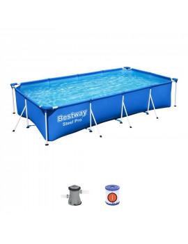Bazén Bestway® Steel Pro™, 56424, 400x211x81 cm, filter