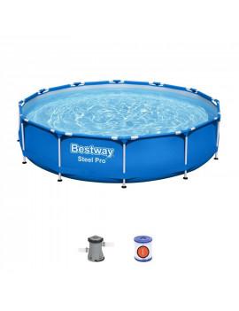 Bazén Bestway® Steel Pro™, 56681, 366x76 cm, filter