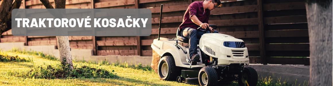 Traktorové kosačky využijeme pri kosení veľkých trávnikov a parkov.
