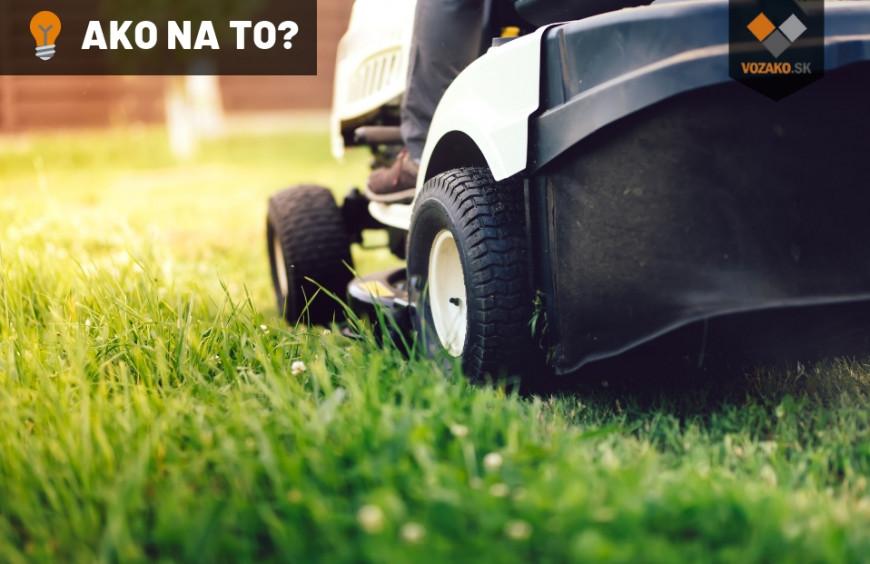 Trávny traktor uľahčuje prácu na veľkých pozemkoch. Ako vybrať ten správny typ?