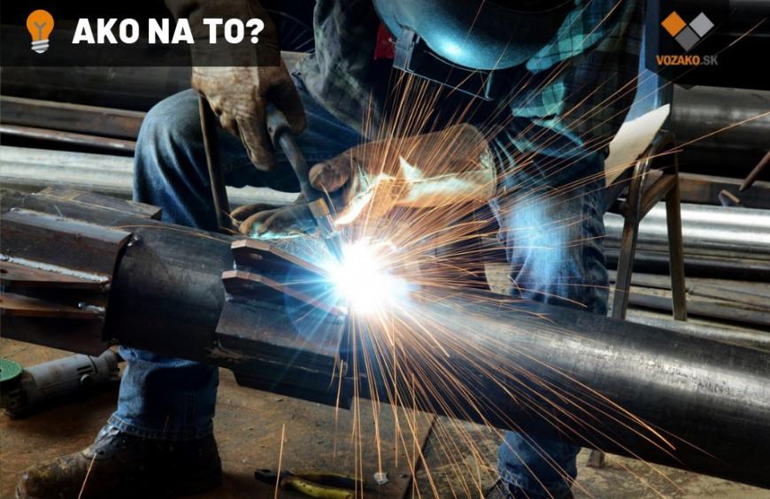 Zváranie v ochrannej atmosfére zjednoduší vašu prácu